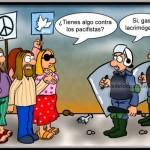 ¿Tenéis algo contra los pacifistas?