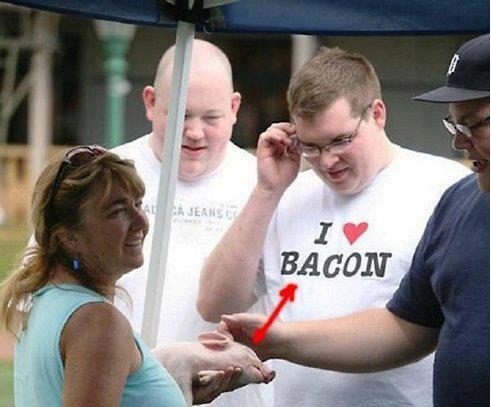 The bacon lover