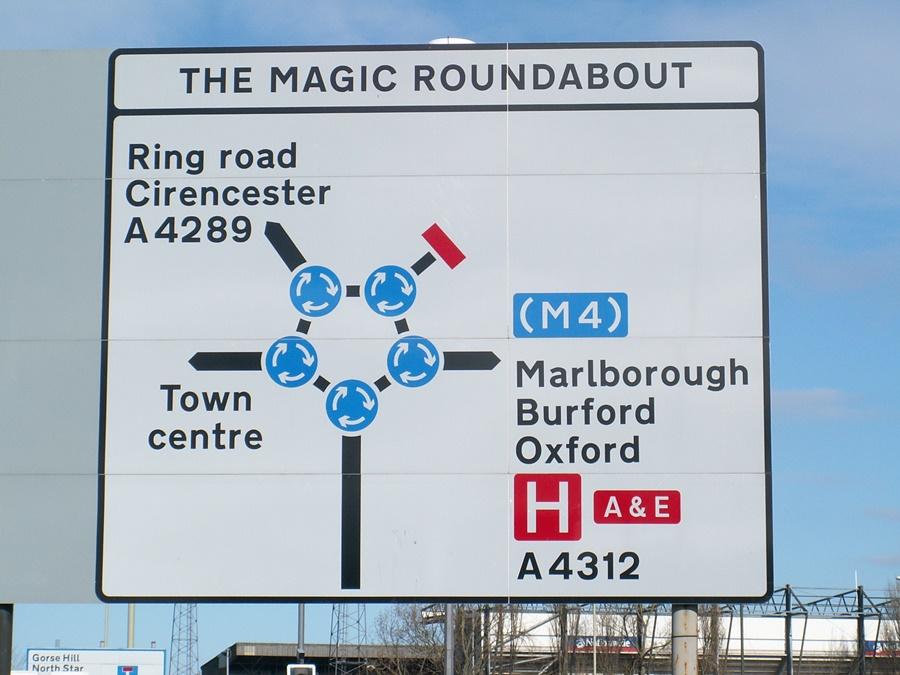 the magic rondabout - la rotonda de rotondas