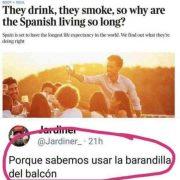 La clave de por qué los españoles viven más que los ingleses
