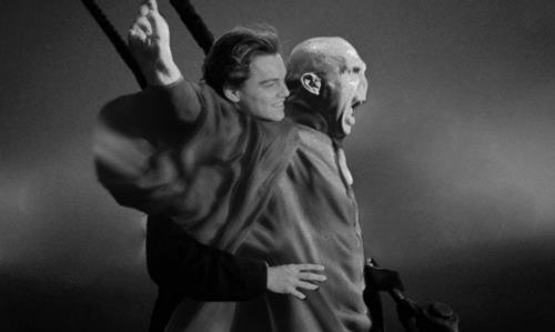DiCaprio con Voldemor
