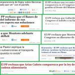 La transparencia del PP en titulares