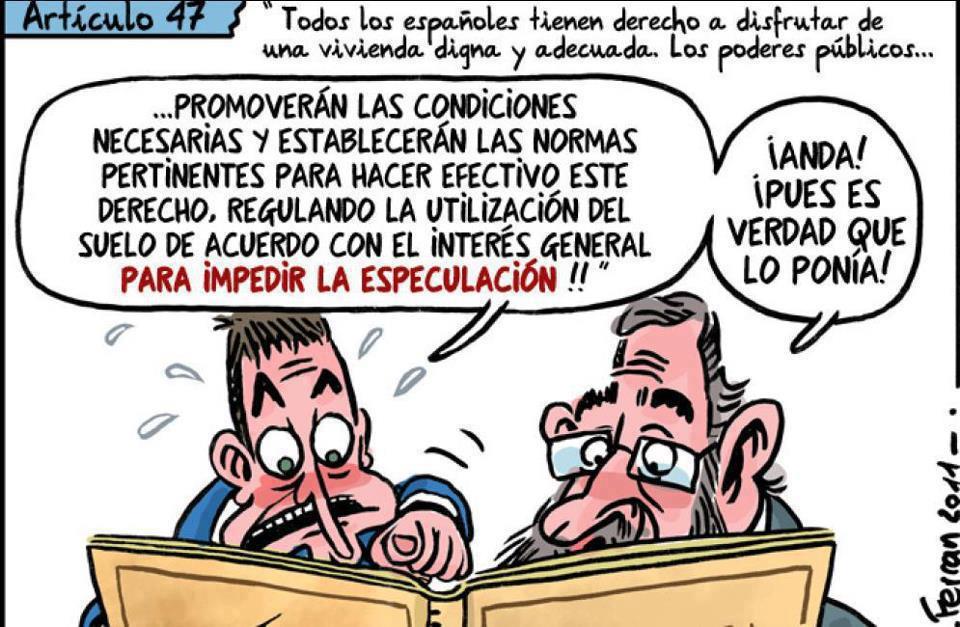 todos los españoles tienen derecho a disfrutar de una vivienda digna y adecuada - articulo 47 de la constitucion