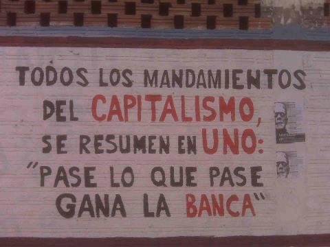 En el capitalismo y en los casinos, la banca siempre gana