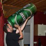 Tomando una cervecita