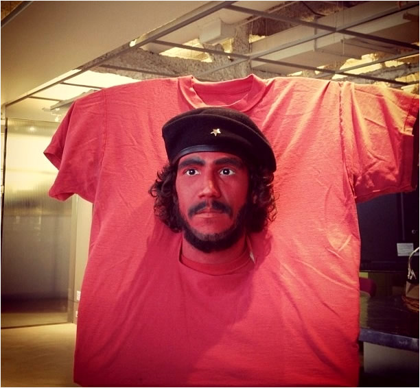 Camiseta Che Guevara en 3D
