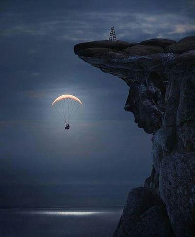 Luna paracaídas