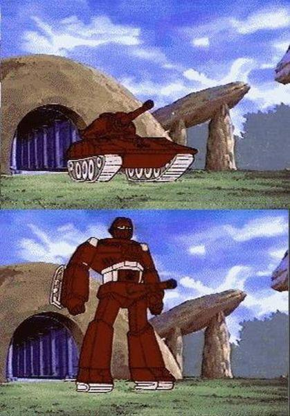 Transformers - Tanque