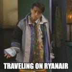 Viajando en Ryanair