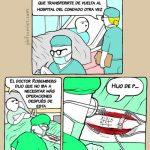 Operación complicada