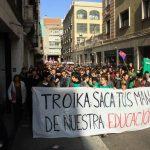 Troika: Saca tus manos de nuestra educación