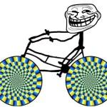 Ilusión óptica – Ruedas que se mueven