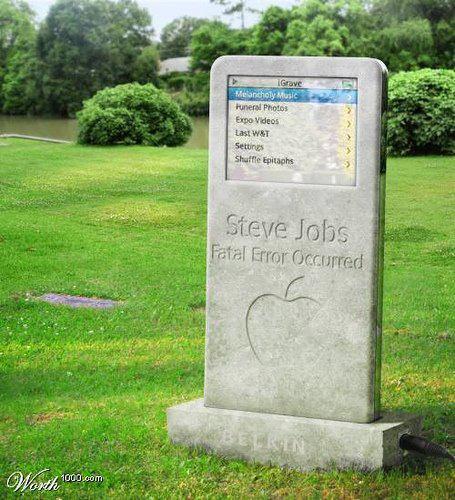 Tumba de Steve Jobs