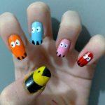 Pacman, hasta en las uñas