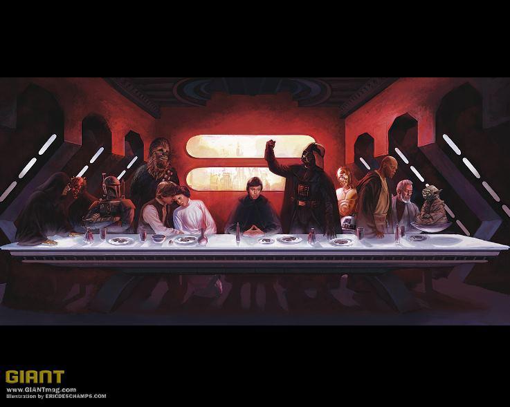 Última cena - Star wars Edition
