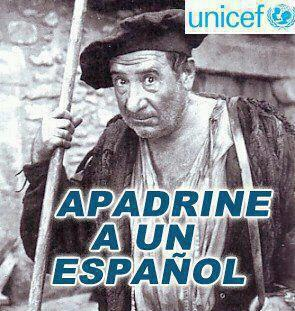 Apadrine a un español