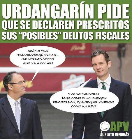 Urdangarín pide que se declaren prescritos sus posibles delitos fiscales