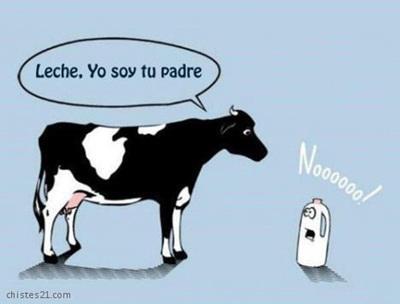 vaca leche, yo soy tu padre - noooo