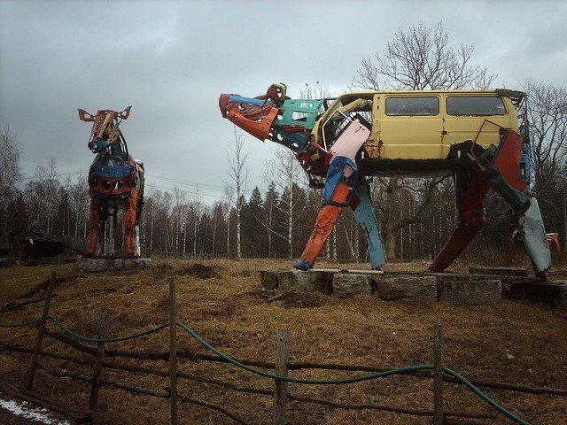 Vacas mecánicas (Miina Äkkijyrkkä)