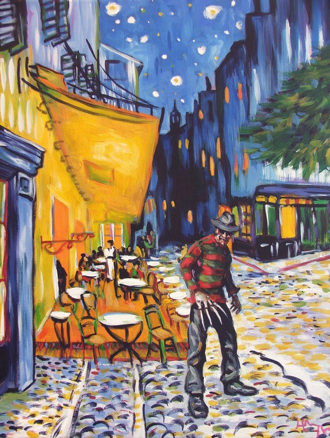 Van Gogh - Freddy Kruegger