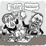 Fernández Toxo y Cándido Mendez – A las mariscadas