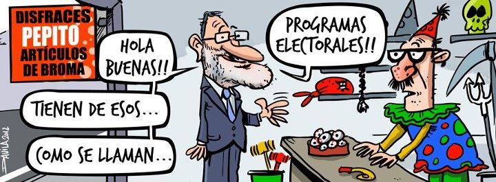¿Tienen de esos... programas electorales?