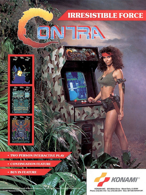 Contra - Irresistible Force