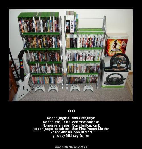 Algunas aclaraciones sobre los videojuegos