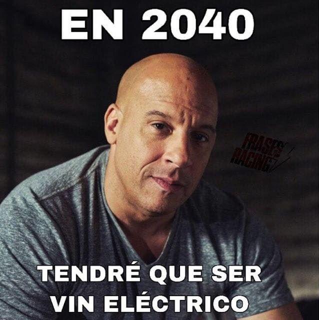 vin diesel en 2040 tendre que ser vin electrico