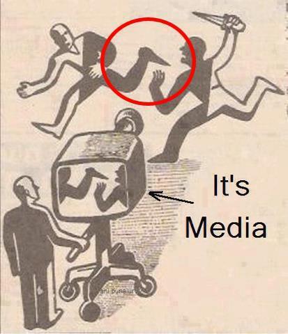 Lo que sale en los medios