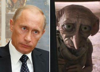 Parecidos razonables - Putin y Doby