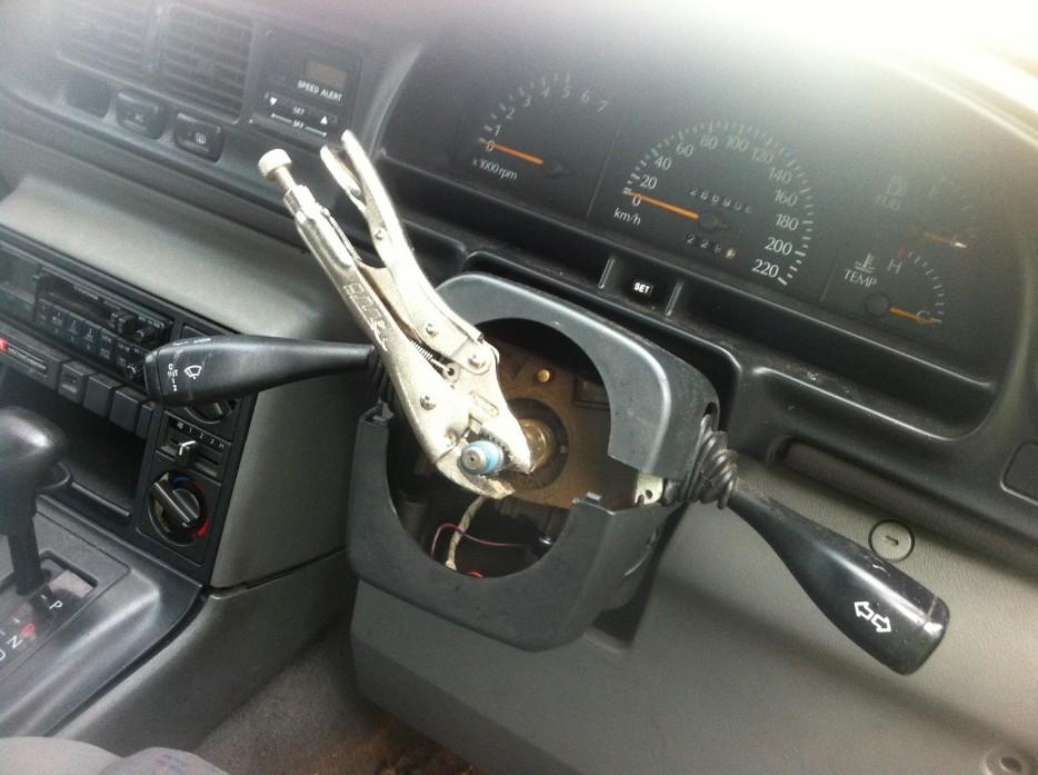 volante improvisado