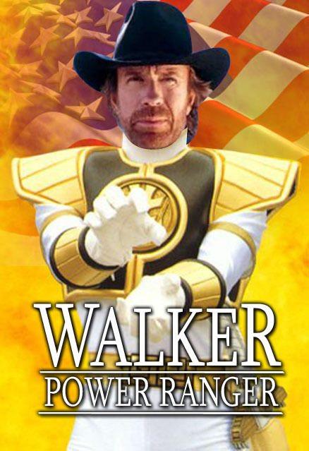 Walker Power Ranger