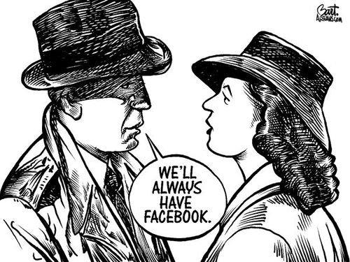 We'll always have facebook