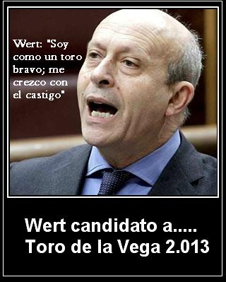 Wert candidato a Toro de la Vega