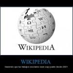 Wikipedia – Haciendo que tus trabajos sean copy-paste desde 2001