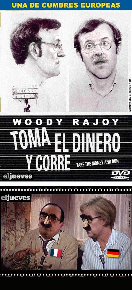 Toma el dinero y corre (de Woody Rajoy)