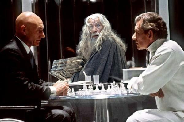 Gandalf descubre a Magneto