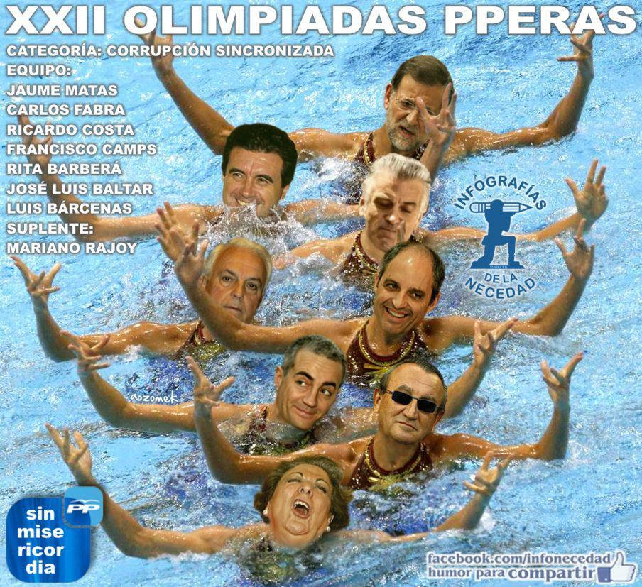 xxii olimpiadas pperas - categoria corrupcion sincronizada
