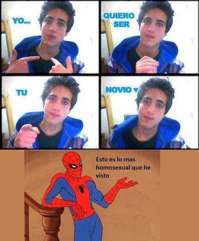 Bien dicho, Spiderman