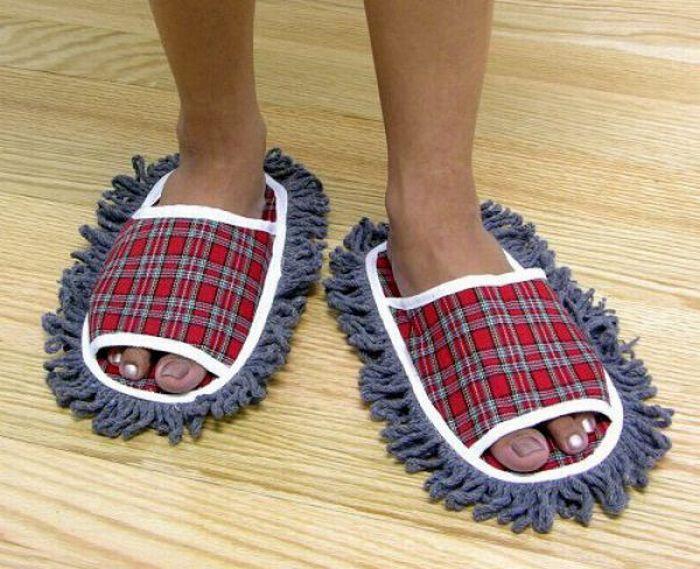 Zapatillas limpia suelos